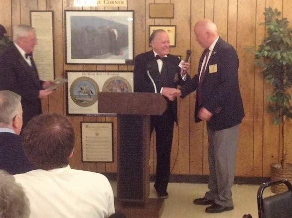 Terry Hicks, Elk BOD Officer of the Year