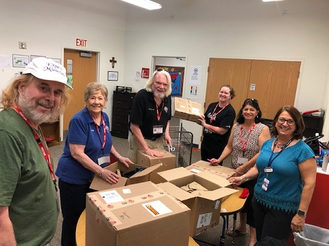 Delivering Occupational Therapy Equipment to St. Mary Academy
