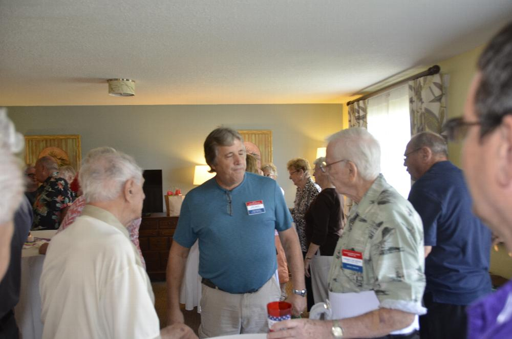 Carl Gerace and his entourage visited the West Citrus Elks Lodge on Friday & Saturday, October 13th and 14th