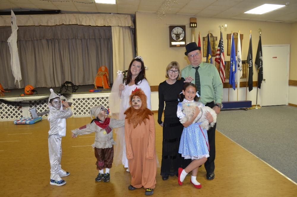 Children's Halloween Party Costume Winners