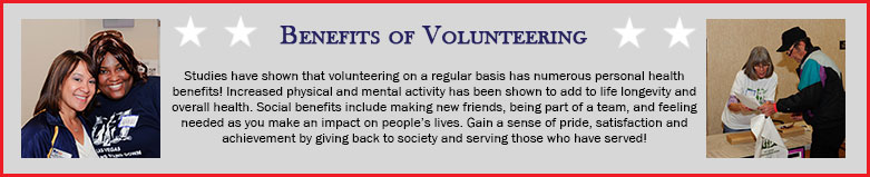 Benefits of Volunteering